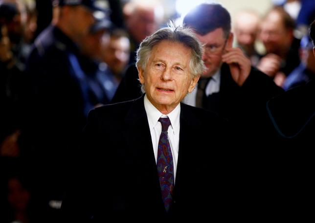 FILE PHOTO - Filmmaker Roman Polanski walks on a corridor during a break of a court hearing in Krakow February 25, 2015. REUTERS/Kacper Pempel/File Photo