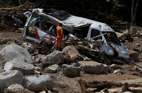 Landslide devastates Colombia