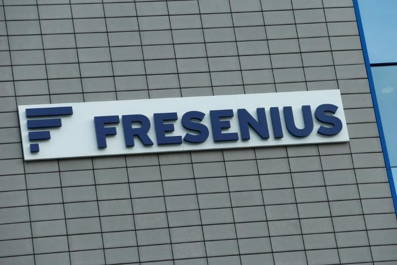 A Fresenius SE logo is pictured in Bad Homburg near Frankfurt, Germany February 22, 2017.    REUTERS/Ralph Orlowski
