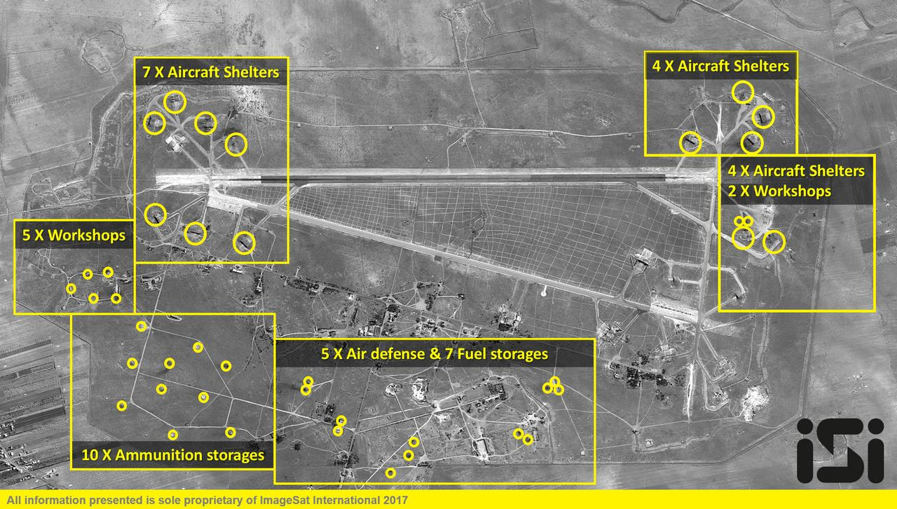 Assad Allies Say US Attack On Syria Air Base Crosses Red Lines - Us allies map 2017