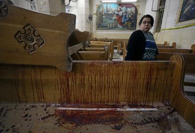 Twin church bombings in Egypt