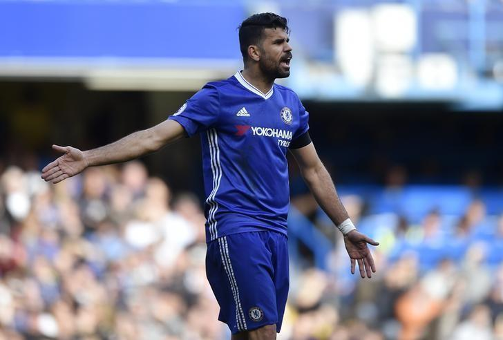 Britain Soccer Football - Chelsea v Crystal Palace - Premier League - Stamford Bridge - 1/4/17 Chelsea's Diego Costa in action Reuters / Hannah McKay/ Livepic/ Files