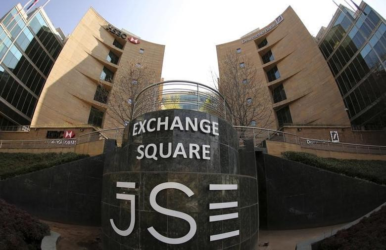 A general view of the Johannesburg Stock Exchange building in Sandton August 13, 2014.  REUTERS/Siphiwe Sibeko/Files