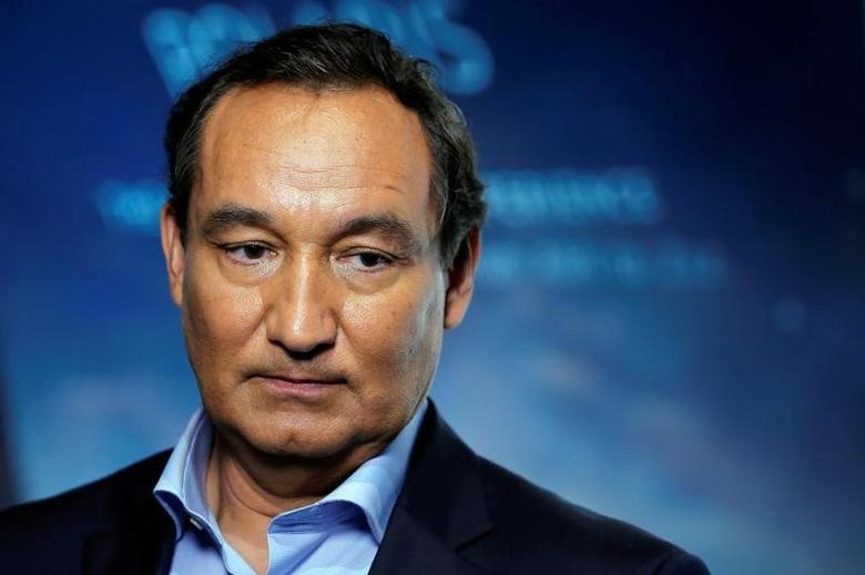 Chief Executive Officer of United Airlines Oscar Munoz  in New York, U.S. June 2, 2016. REUTERS/Lucas Jackson