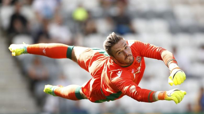 Britain Football Soccer - Preston North End v Stoke City - Pre Season Friendly - Deepdale - 23/7/16Stoke City's Jack Butland in action Action Images via Reuters / Carl Recine
