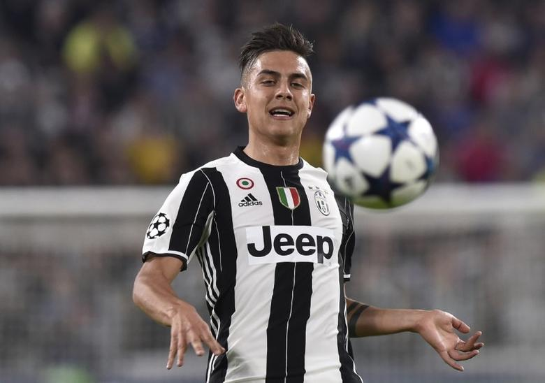 Football Soccer - Juventus v FC Barcelona - UEFA Champions League Quarter Final First Leg - Juventus Stadium, Turin, Italy - 11/4/17 Juventus' Paulo Dybala in action  Reuters / Giorgio Perottino Livepic/Files