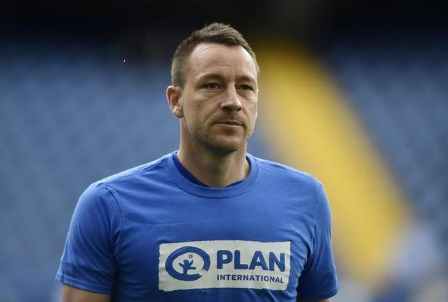 Britain Soccer Football - Chelsea v Crystal Palace - Premier League - Stamford Bridge - 1/4/17 Chelsea's John Terry warms up before the match Reuters / Hannah McKay/ Livepic/ Files