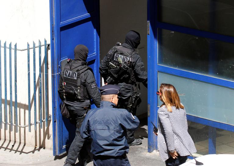 France arrests men suspected of planning attack ahead of elections