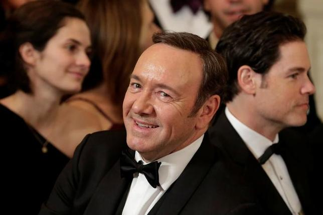 Actor Kevin Spacey attends the Kennedy Center Honors Reception at the White House in Washington, U.S., December 4, 2016. REUTERS/Yuri Gripas/Files