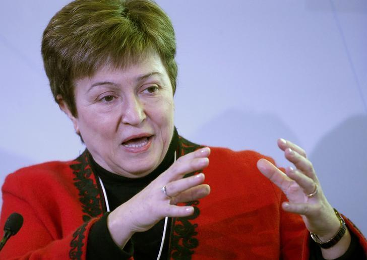 Kristalina Georgieva, CEO of the World Bank attends the World Economic Forum (WEF) annual meeting in Davos, Switzerland January 20, 2017.  REUTERS/Ruben Sprich