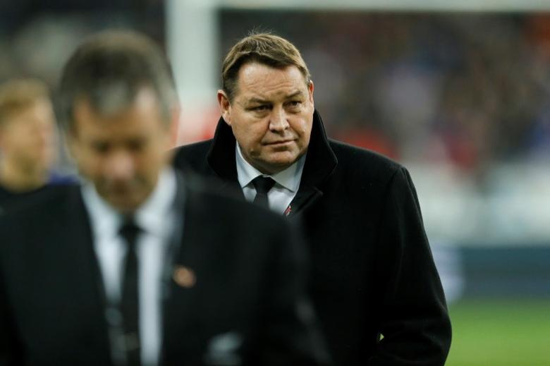 France Rugby - France v New Zealand All Blacks - Stade de France, Saint-Denis near Paris, France, 26/11/2016. New Zealand's head coach Steve Hansen. REUTERS/Benoit Tessier