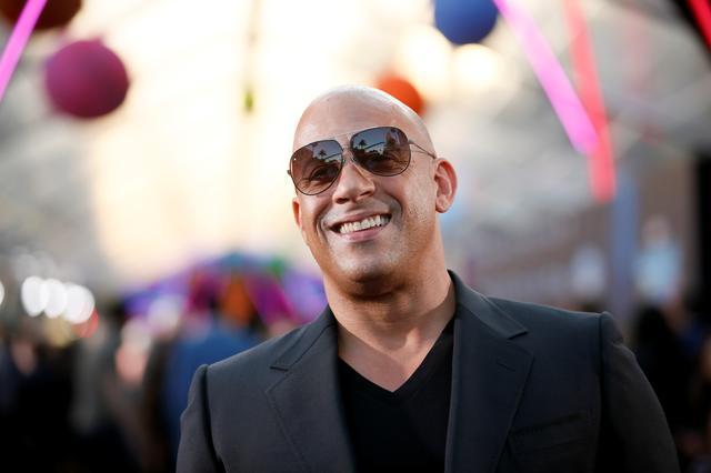 Actor Vin Diesel. REUTERS/Danny Moloshok