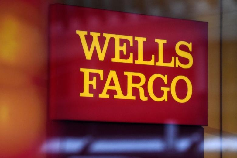 FILE PHOTO: A Wells Fargo logo is seen in New York City, U.S. January 10, 2017. REUTERS/Stephanie Keith