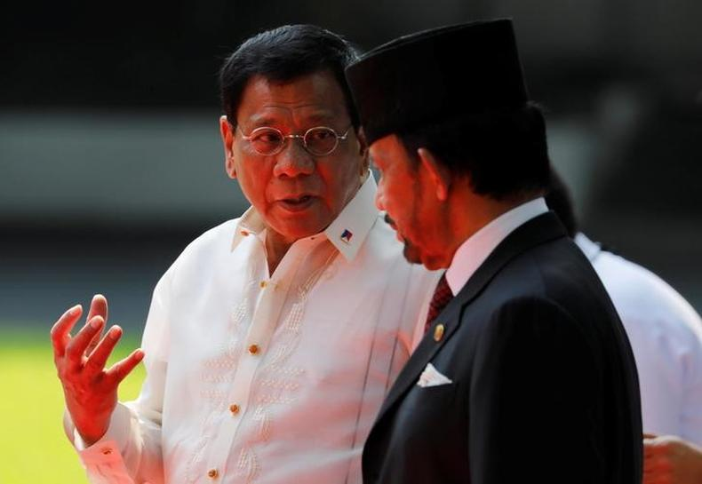 Philippines' Duterte says pointless discussing South China Sea woes at summit