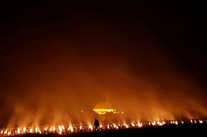 Fighting frost with fire in France�s vineyards