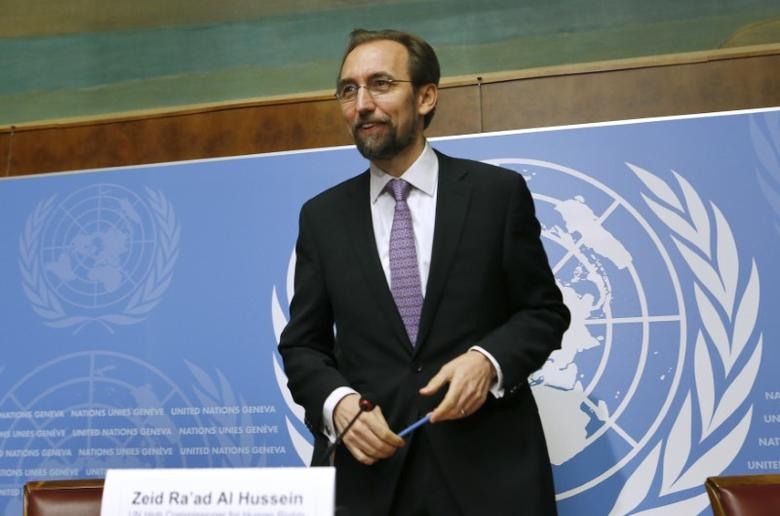 Image result for U.N. rights chief questions due process in Turkey arrest
