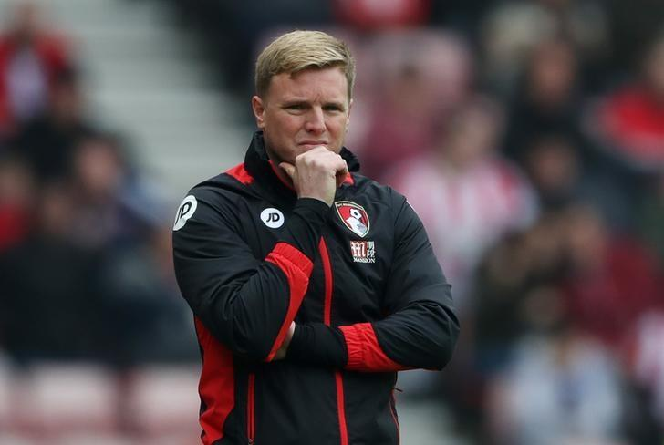 Britain Football Soccer - Sunderland v AFC Bournemouth - Premier League - Stadium of Light - 29/4/17 Bournemouth manager Eddie Howe Reuters / Scott Heppell Livepic /Files