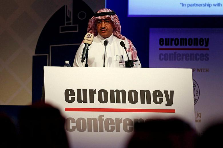 Saudi Basic Industries Corporation (SABIC) Vice Chairman and Chief Executive Officer Yousef Abdullah al-Benyan speaks during the Euromoney Saudi Arabia Conference 2017 in Riyadh, Saudi Arabia, May 2, 2017. REUTERS/Faisal Al Nasser