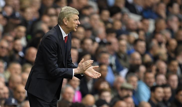 Britain Football Soccer - Tottenham Hotspur v Arsenal - Premier League - White Hart Lane - 30/4/17 Arsenal manager Arsene Wenger Reuters / Toby Melville Livepic