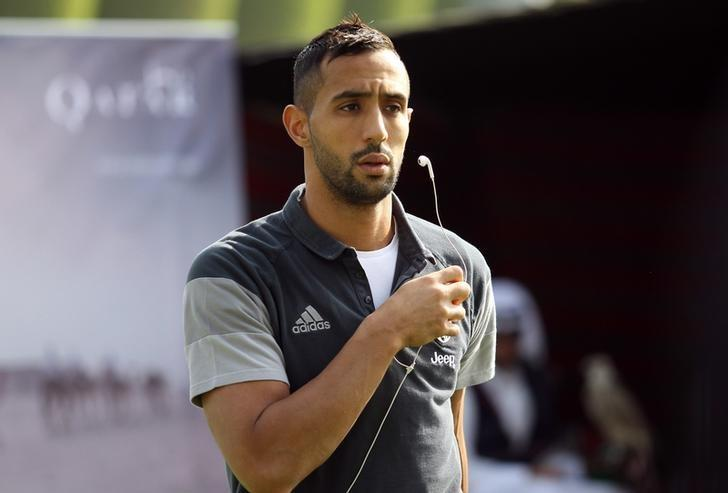 Football Soccer - QTA host Italian Super Cup Finalists, Aspire Sports City, Doha, Qatar - 21/12/16  Juventus' Medhi Benatia after a training session Action Images via Reuters / Naseem Zeitoon