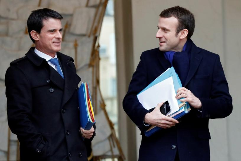 French ex-prime minister Valls offers to back Macron in elections