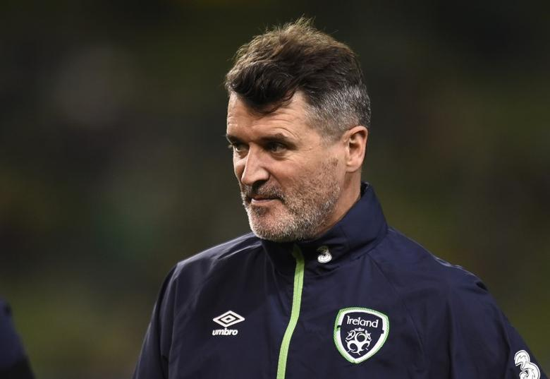 Football Soccer - Republic of Ireland v Wales - 2018 World Cup Qualifying European Zone - Group D - Aviva Stadium, Dublin, Republic of Ireland - 24/3/17 Republic of Ireland assistant manager Roy Keane before the match Reuters / Clodagh Kilcoyne Livepic