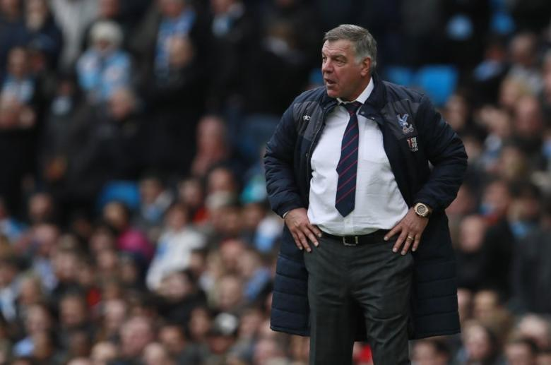 Britain Soccer Football - Manchester City v Crystal Palace - Premier League - Etihad Stadium - 6/5/17 Crystal Palace manager Sam Allardyce  Action Images via Reuters / Jason Cairnduff Livepic