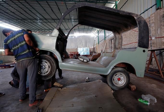 Image result for Egypt's auto rickshaw gets a new, home-grown challenger