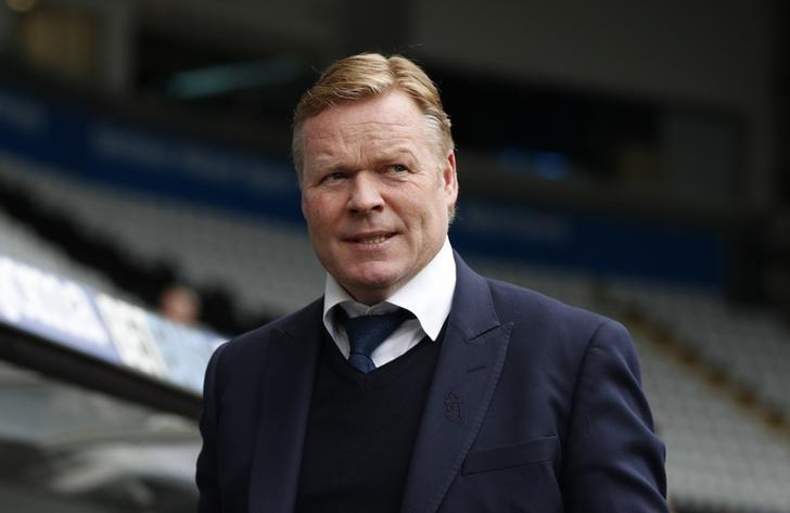 Britain Soccer Football - Swansea City v Everton - Premier League - Liberty Stadium - 6/5/17 Everton manager Ronald Koeman in the stadium before the match  Action Images via Reuters / John Sibley/ Livepic/Files