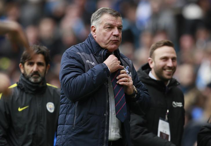 Britain Soccer Football - Manchester City v Crystal Palace - Premier League - Etihad Stadium - 6/5/17 Crystal Palace manager Sam Allardyce Action Images via Reuters / Jason Cairnduff/ Livepic/ Files