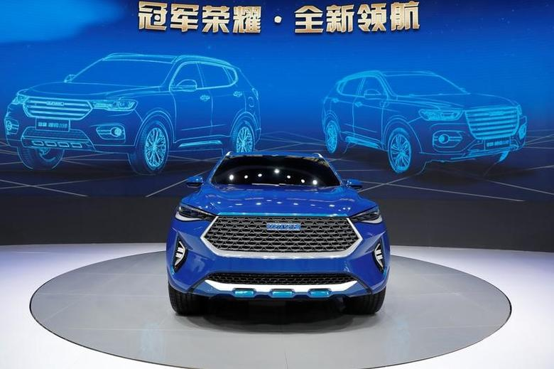 A Haval HB-03 Hybrid car from Great Wall Motors is displayed at Shanghai Auto Show during its media day, in Shanghai, China April 19, 2017. REUTERS/Aly Song