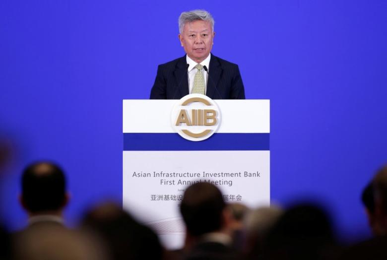 Asian Infrastructure Investment Bank (AIIB) president Jin Liqun attends the opening ceremony of the first annual meeting of AIIB in Beijing, China, June 25, 2016. REUTERS/Jason Lee