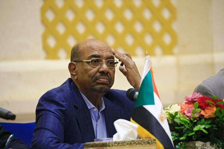 Sudan's President Omar Hassan al-Bashir listen during a press conference after the oath of the prime minister and first vice president Bakri Hassan Saleh at the palace in Khartoum, Sudan March 2,2017. REUTERS/Mohamed Nureldin Abdallah