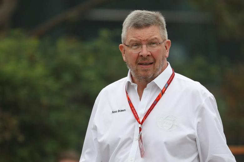 Formula One - F1 - Chinese Grand Prix - Shanghai, China - 6/4/17 - Formula One Managing Director of Motorsports Ross Brawn walks at the Shanghai International Circuit ahead of the Chinese F1 Grand Prix. REUTERS/Aly Song