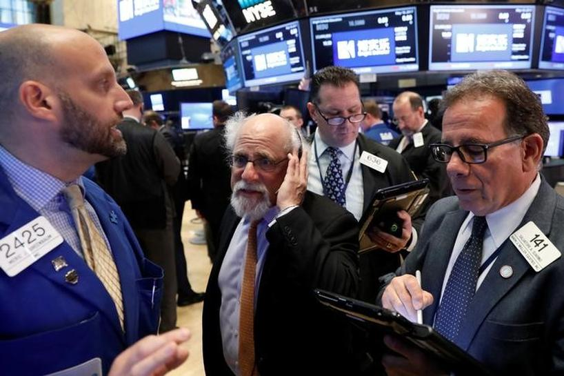 Stocks pare gains after fresh reports on Washington Russia probe