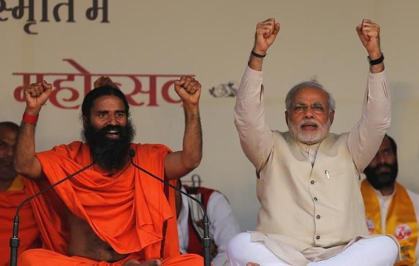 Special Report: As Modi and his Hindu base rise, so too does yoga tycoon Baba Ramdev
