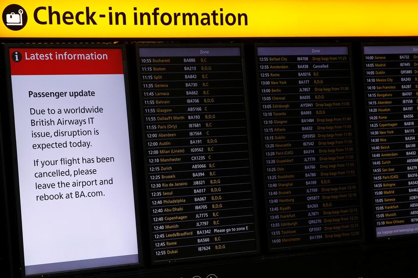 British Airways Flights Returning to Normal After Damaging it Collapse