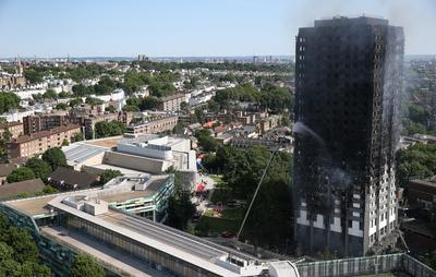 London apartment block fire
