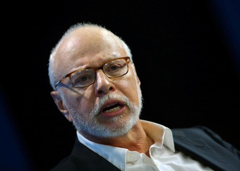 Paul Singer, founder and president of Elliott Management Corporation, speaks at WSJD Live conference in Laguna Beach, California, U.S., October 25, 2016. Mike Blake