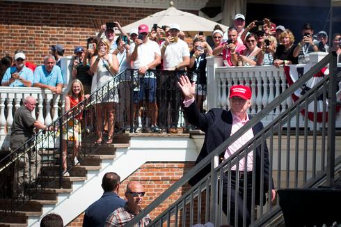 Trump golf course hosts Women's Open