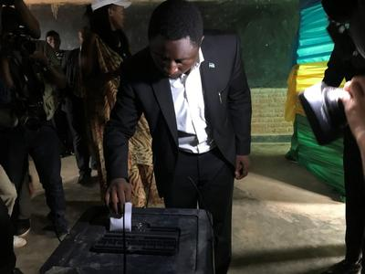 Image result for Rwandans vote in poll expected to hand Kagame third term