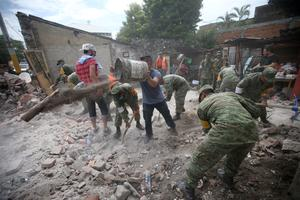 Mexico reels after devastating earthquake