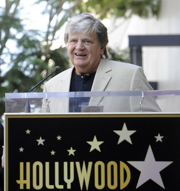 Musician Phil Everly speaks during a ceremony on the Hollywood Walk of Fame in Hollywood in this September 7, 2011 file photo. Phil McCarten/Files