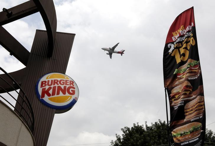 A Burger King restaurant is seen on a main street in Sao Paulo, Brazil October 20, 2017.  Paulo Whitaker