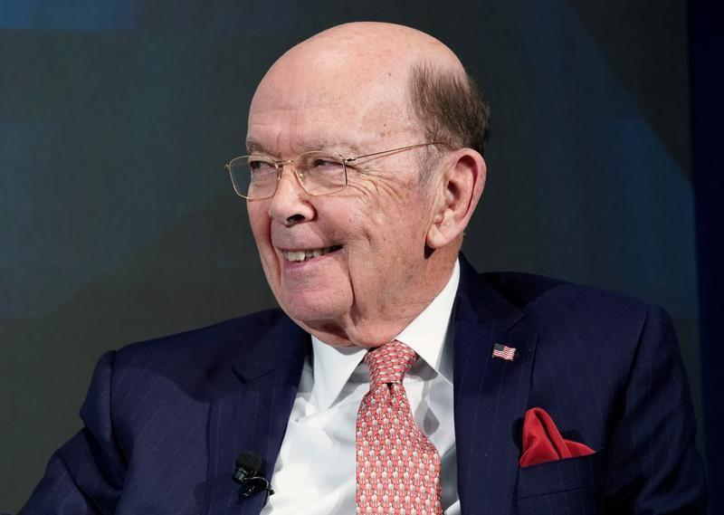 Wilbur L. Ross, U.S. Secretary of Commerce, smiles during the World Economic Forum (WEF) annual meeting in Davos, Switzerland January 24, 2018.  Denis Balibouse