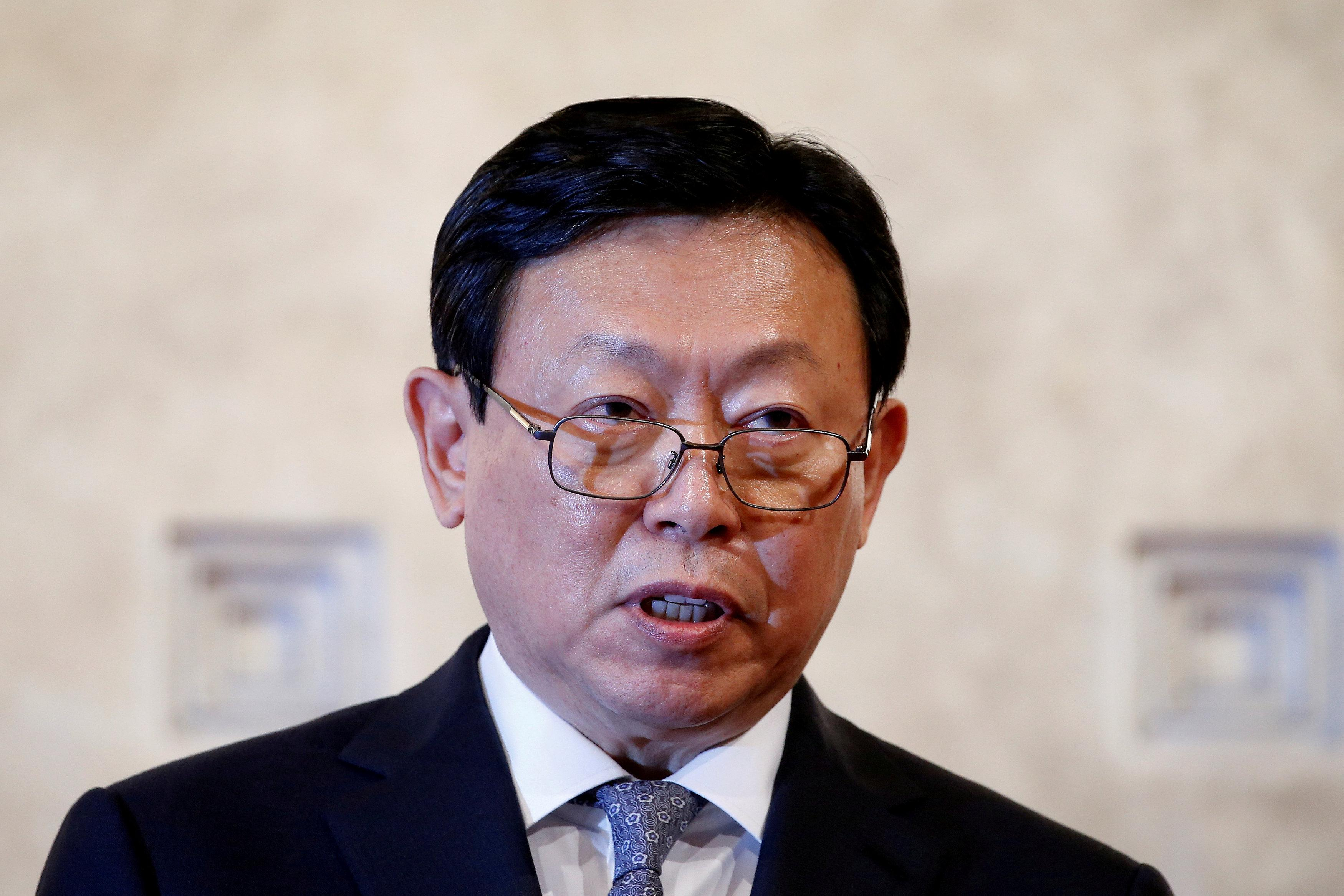 Lotte Group chairman Shin Dong-bin speaks during a news conference in Seoul, South Korea, October 25, 2016. Kim Hong-Ji