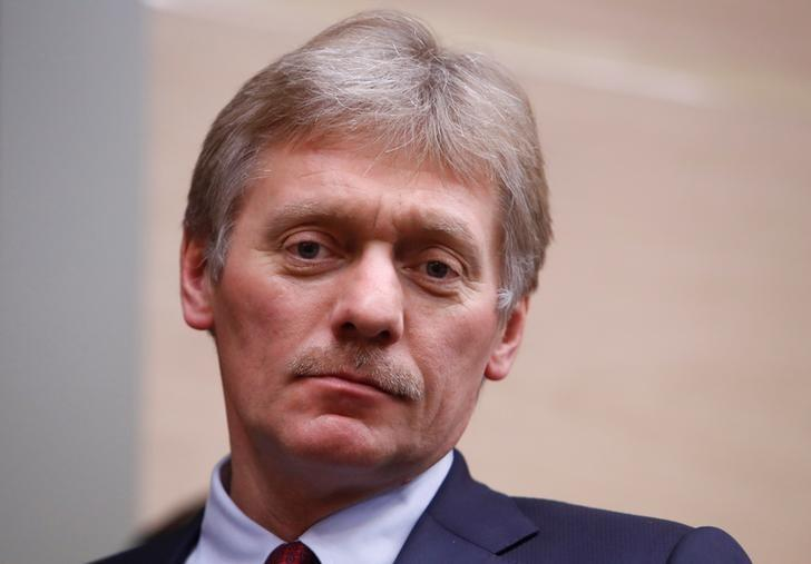Kremlin spokesman Dmitry Peskov arrives for the meeting with officials of Rostec high-technology state corporation at the Novo-Ogaryovo state residence outside Moscow, Russia December 7, 2017. Sergei Karpukhin