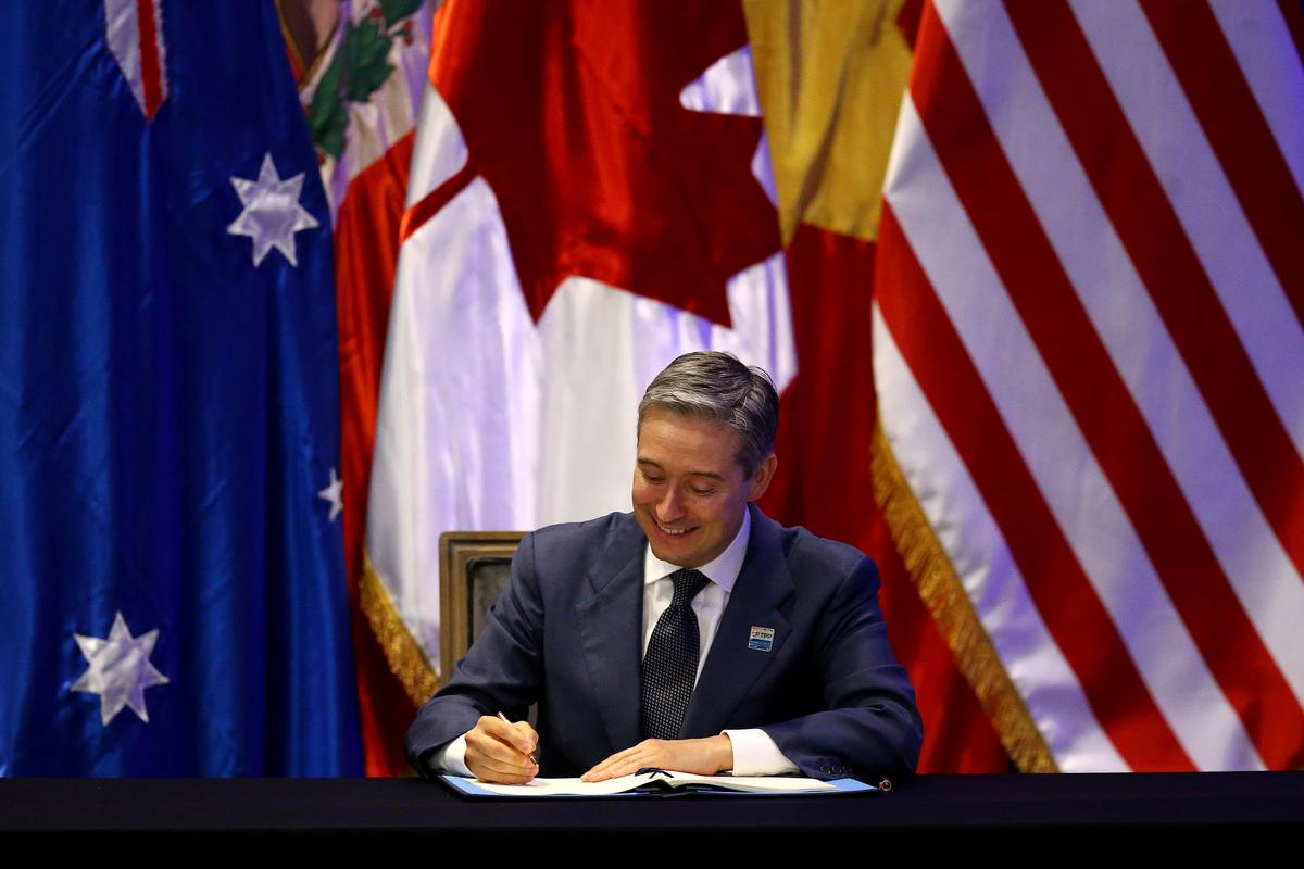 Asia-Pacific nations sign sweeping trade deal without U.S.