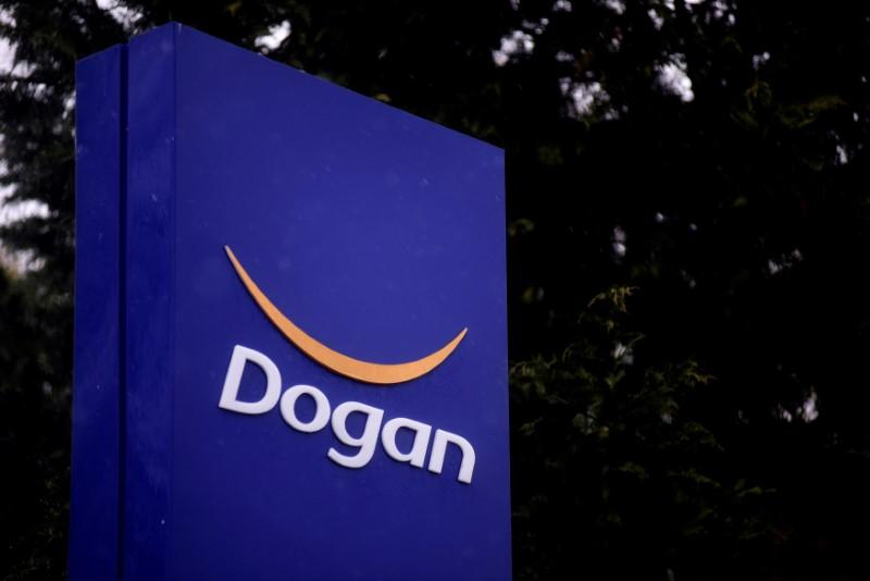 The logo of Dogan Holding is pictured at its headquarters in Istanbul, Turkey, January 5, 2017. Yagiz Karahan