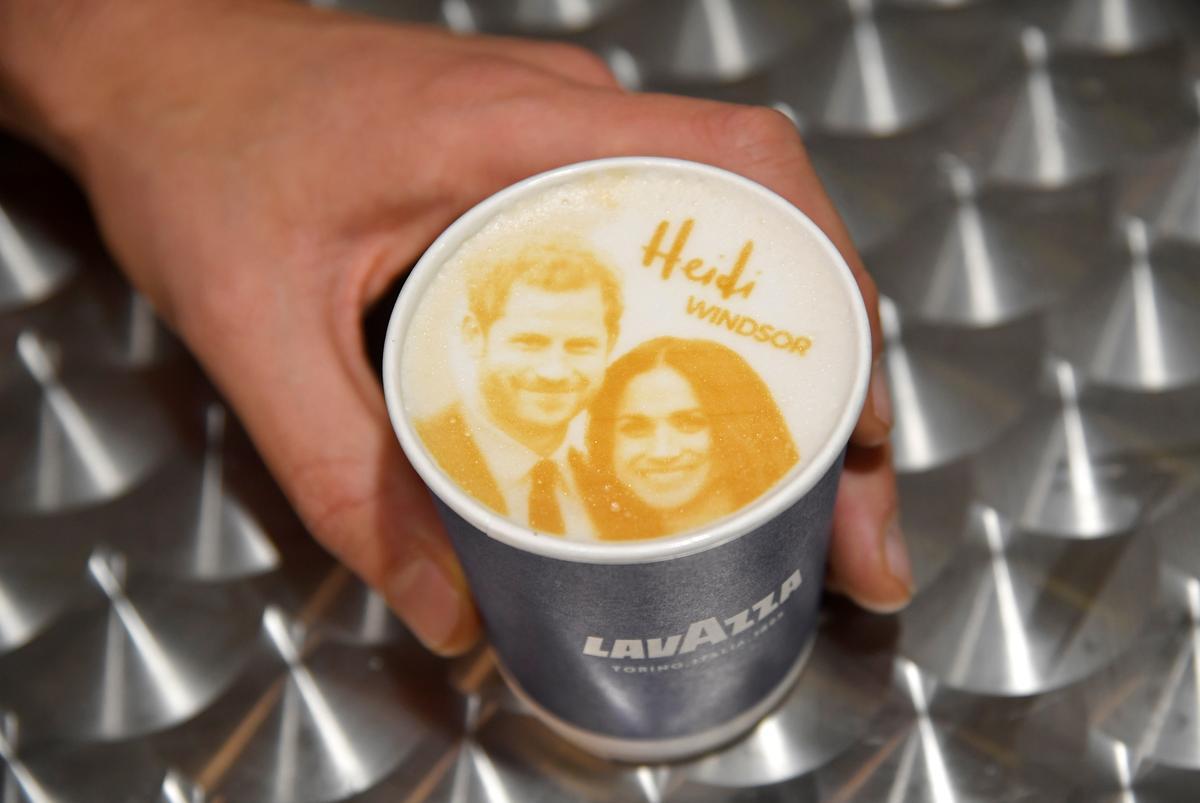 Megharryccino anyone? Bakery serves up royal wedding coffees